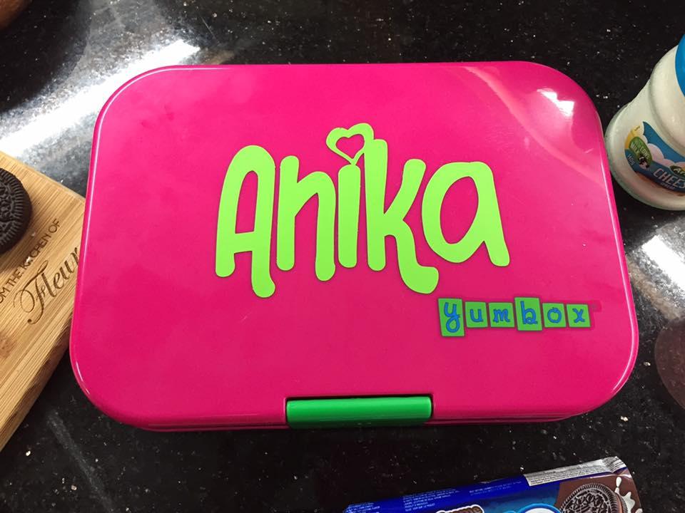 Anika loves her yumbox
