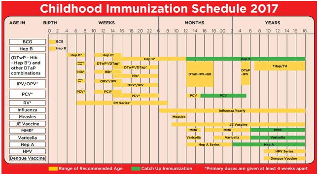 national immunization schedule india 2015 pdf